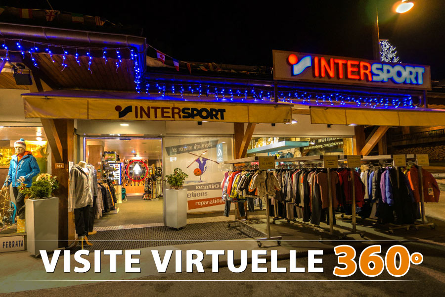 Visite virtuelle du magasin Intersport Grand Bornand, Haute-Savoie